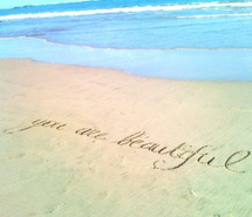 You are beautiful...