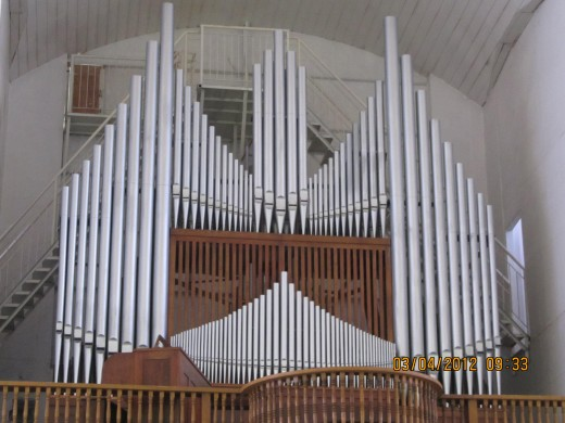 Immaculate Conception Pipe Organ