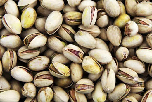 Pistachio nuts are a heart healthy natural food.