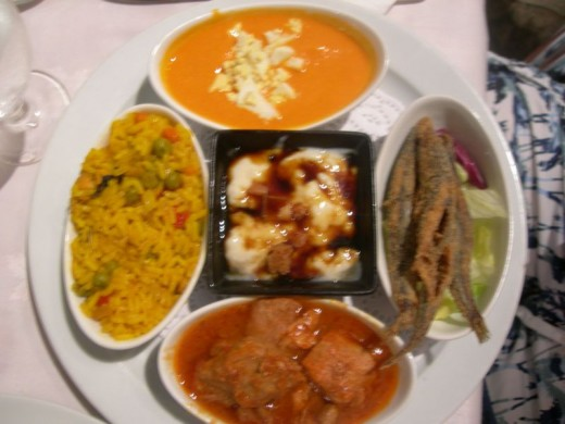 Typical tapas dishes (appetizers) found in Andalusia and the Costa del Sol.