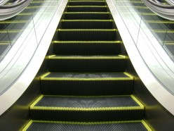 How does an escalator work?