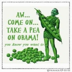 Eat Your Peas?  It's Dinner Time Obama