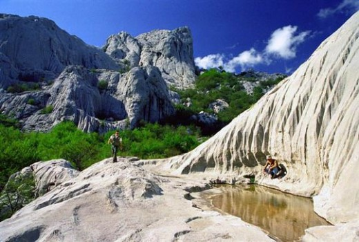 Paklenica National Park is located at one of the most beautiful parts of Velebit, the central mountain range in Croatia (Hrvatska).