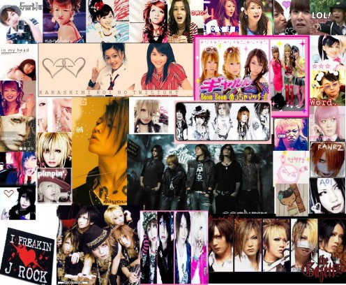 J-pop artists from various genres
