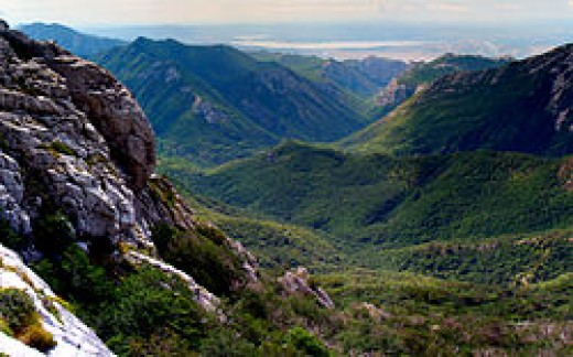 Beautiful Green Valleys were once inhabited by Paleolithic peoples.  Many archeological artifacts have been discovered in this region.