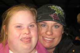 This is Sarah and her sister Kelly!
