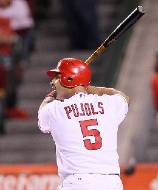 Albert Pujols ready to strike