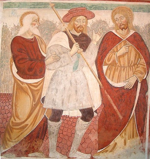Photo 12 - From the account where Jesus appears to the two men on the road to Emmaus.