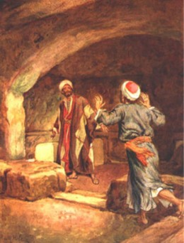 Photo 9 - Even though the women saw the empty tomb first, a couple of the disciples needed to go see for themselves!