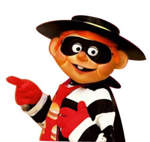 Now if you see this guy around, you better keep an eye on your hamburgers.