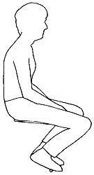 The typical slouch