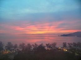 Beautiful Phuket sunset