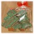 Christmas tree-shaped cookies