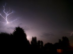 What is the difference between Forked Lightning and Sheet Lightning?