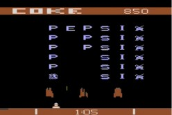 Pepsi invaders - One of the first and rarest advergames