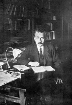 A younger Einstein