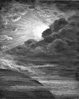 Creation of Light, by Gustave Doré (1832–1883)