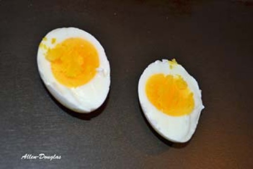 Perfect hard boiled eggs with no green yolks