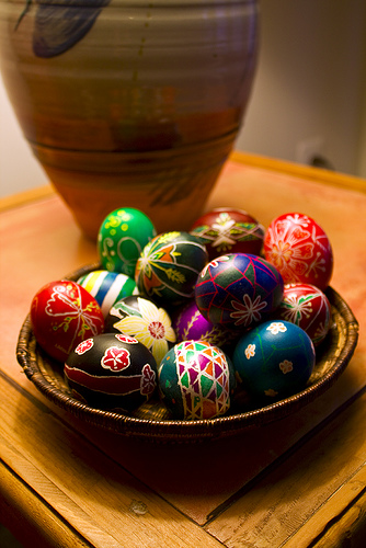 Easter Eggs from Avelino Maestas Source: flickr.com