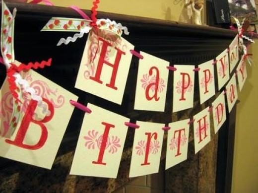 make you're own birthday sign