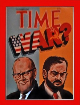 Clarke and Kubrick Depicted as Cold War Adversaries