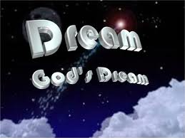 Dreaming about God is a very powerful dream