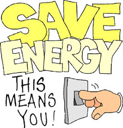Save Energy as this means you