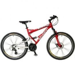 Schwinn Protocol 1.0 Men's Dual-Suspension Mountain Bike.