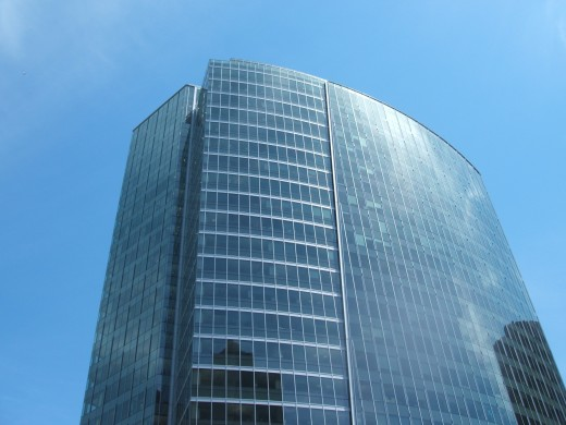 "One of the Buildings in Bellevue, WA, Where I ""Lease Office Space"""