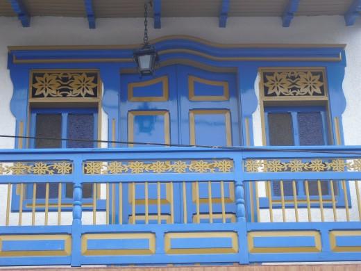 Beautiful balcony in Salento