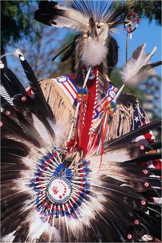 American Indian Pow Wow Dancer