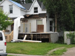 It happens all the time . . . people buy a house then begin renovations, and lose their job.  Costing them the extra money they did have to pay mortgage payments.