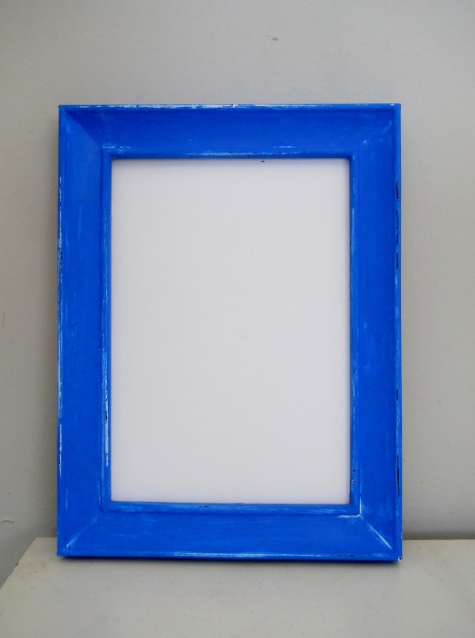 Repainted picture frame