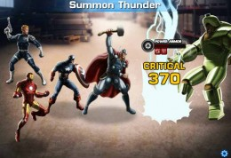 Avengers Alliance Distress Call - Thor arrives to defeat Hydra Power Armor.