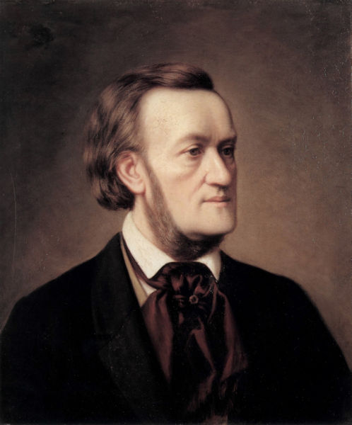 Portrait of Richard Wagner by Cäsar Willich