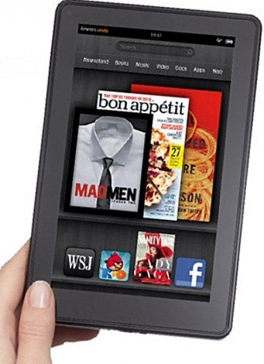 Kindle Fire - 2013 Top 10 Ultimate Birthday Gifts for Men, by Rosie2010