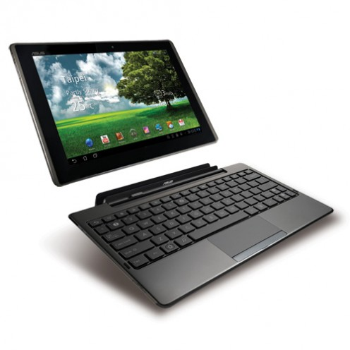 The Asus Eee Pad Transformer TF101.