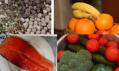 Eat healthy foods: photos by rosika.