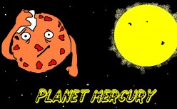 The Planet Mercury the Closest Planet to the Sun