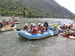 White water rafting in Himachal Pradesh