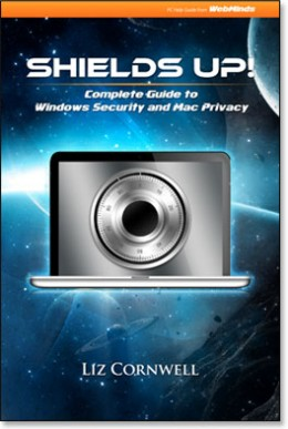 """""""Shields Up!"""" is a comprehensive computer security publication"""