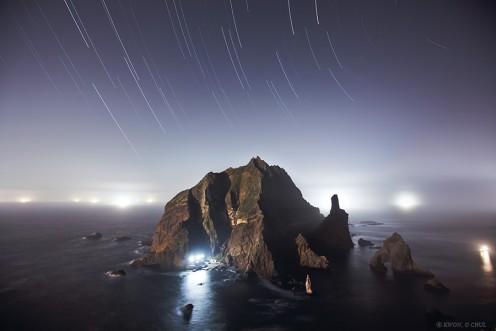 Island Lights by Kwon O Chul