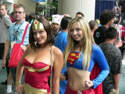 THESE GIRLS ARE DEFINITELY NOT WONDER WOMAN OR SUPERGIRL MATERIAL.