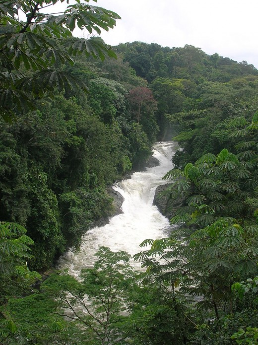 Kwa Falls, Nigeria