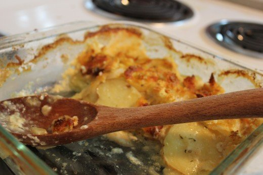 Great scalloped potatoes recipe. Photo by Victoria Demchenko