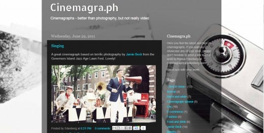 Cinemagraphs - a would-be phenomenon in the field of photography.