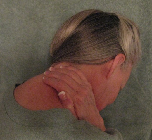 Neck pain can be excruciating.