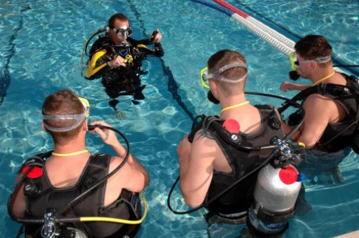 SCUBA instruction