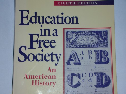 My copy of Education in a Free Society