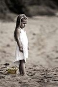 Poems - Lonely Little Girl - She Was a Sad And Sitting  Alone Child